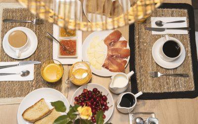 Desayuno Posada El Azufral