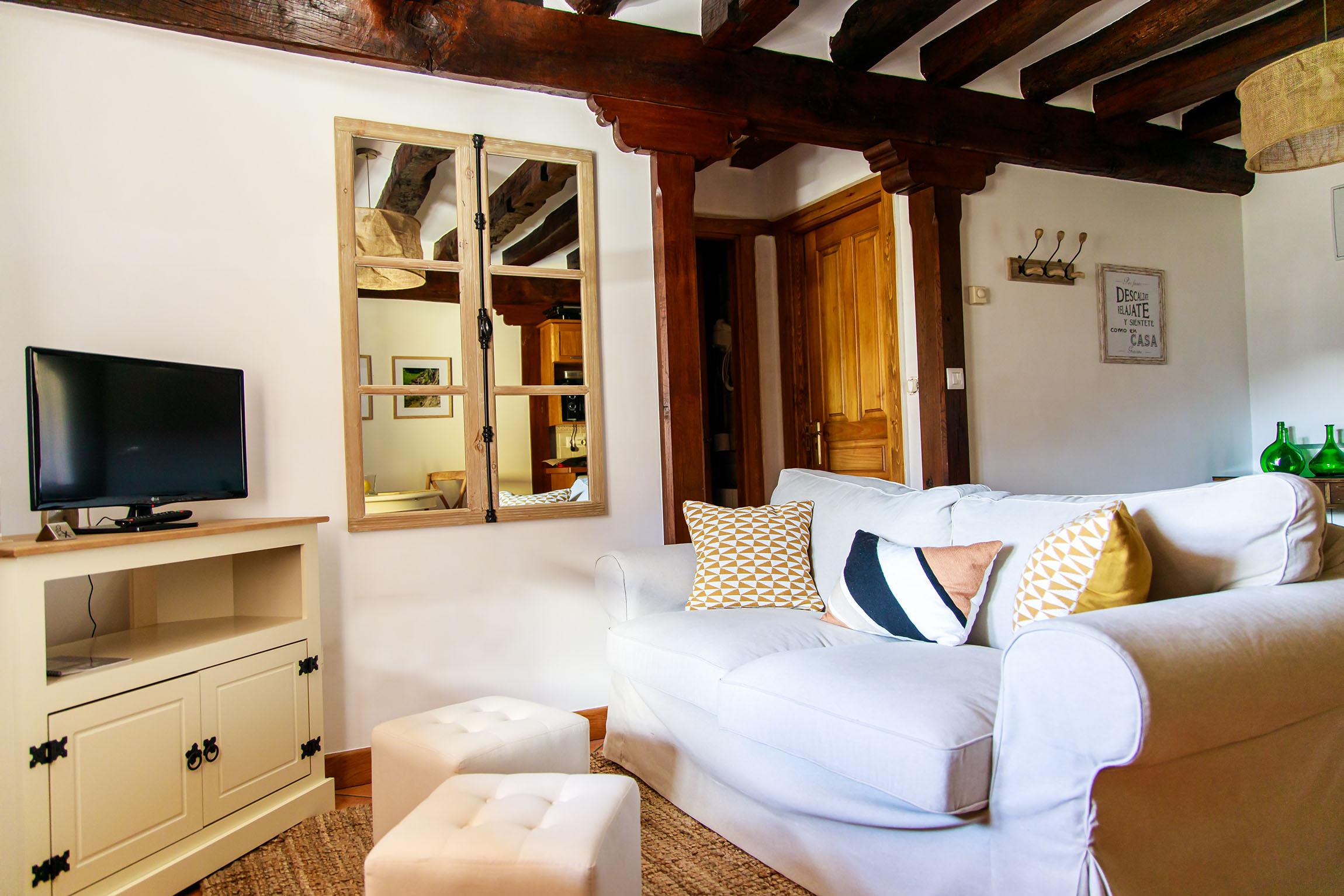 Salon apartamento en Liébana, cantabria.
